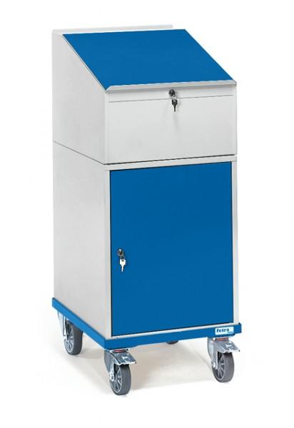 fetra® 2448 Rollpult mit Schrank und Schreibpult