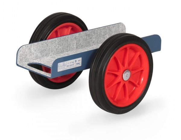 fetra® 4165 Plattenroller mit Vollgummi-Bereifung