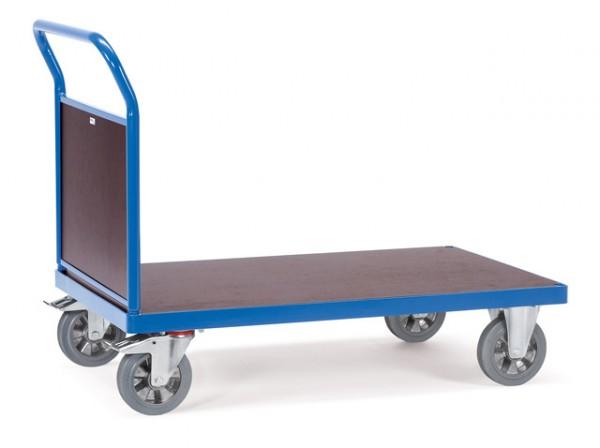 fetra® 12515 Transportwagen mit Stirnwand - Schwerlast - 1200kg Tragkraft