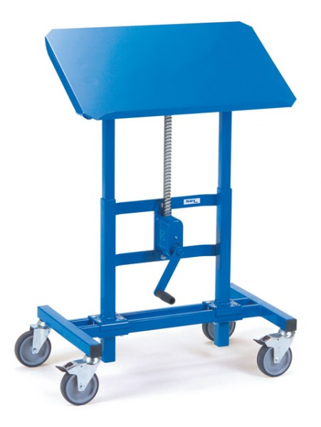fetra® 3285 Materialständer - höhenverstellbar, fahrbar & neigbar