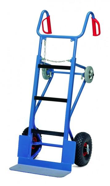 fetra® 11051 schwere Gerätekarre mit Luftbereifung