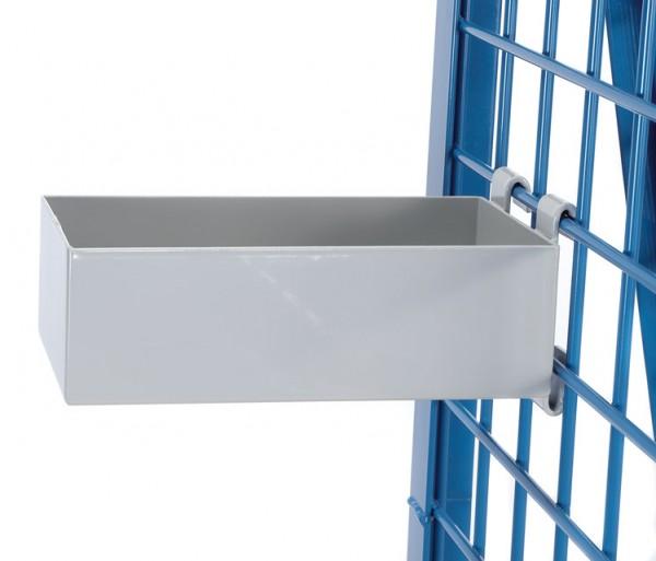fetra® 1306 Materialkasten - L x B x H = 250 x 150 x 80 mm - Tragkraft 25 kg