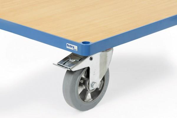 fetra® 12855 Räder mit Elastic-Bereifung blaugrau - Mehrpreis