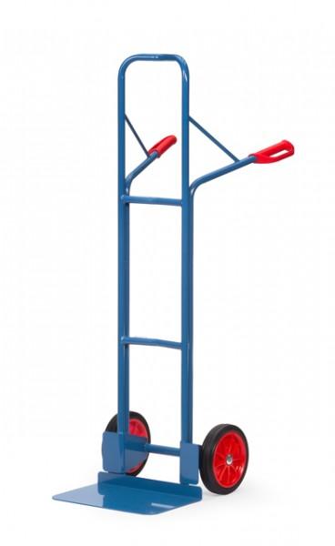fetra® B1328V Stapelkarre - 300kg - Vollgummi-Bereifung - breite Schaufel