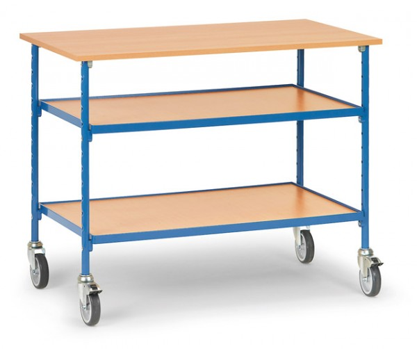 fetra® 5862 Rolltisch für Werkstatt & Industrie