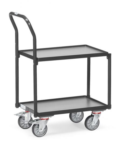 """fetra® 135400/7016 Eurokastenroller """"Grey Edition"""" - 2 Etagen"""