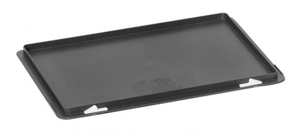 fetra® 1338 Scharnier-Deckel für Eurokasten 600 x 400mm