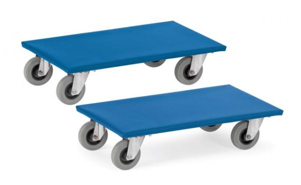 fetra® 2353 Möbelroller - Vollgummibereifung - 300kg - Rollbrett