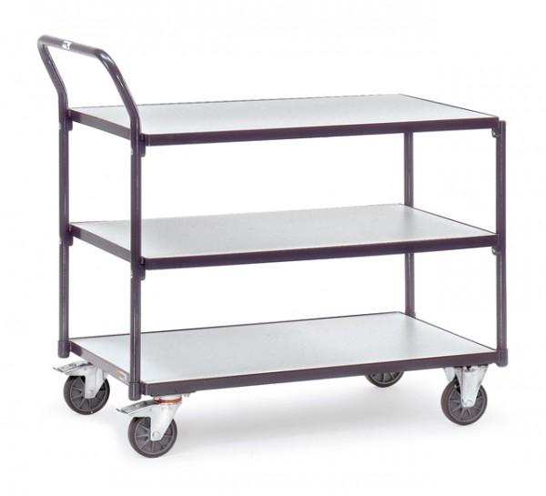 fetra® 1851 ESD-Tischwagen - 3 Etagen
