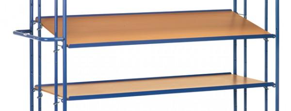 fetra® E4195ET Einhängbarer Etagenboden 1250 x 610mm