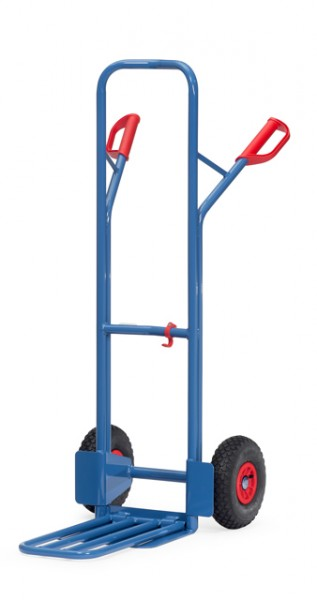 fetra® K1326L Paketkarre - Schaufel klappbar - Luftbereifung