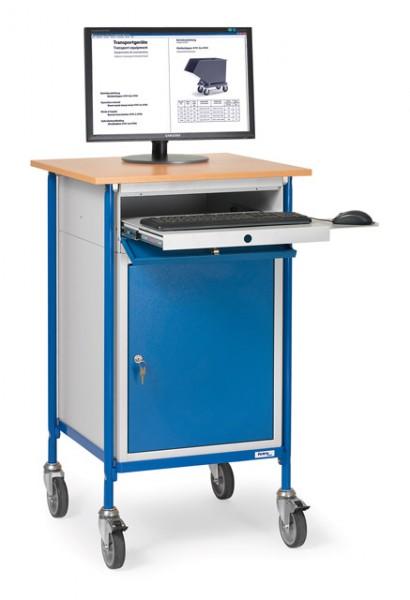 fetra® 5839 Rollpult mit Schrank und Tastaturschublade