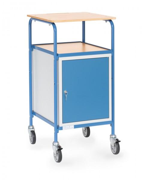 fetra® 5835 Rollpult mit abschließbarem Schrank
