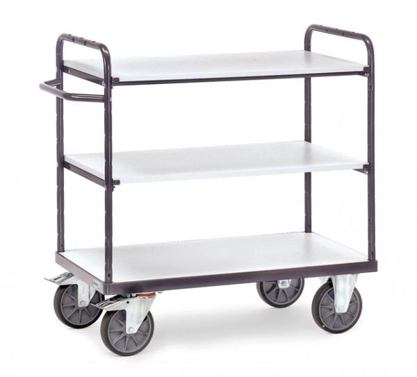 fetra® 9101 ESD-Etagenwagen - 3 Etagen