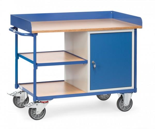 fetra® 2435 Werkstattwagen - Arbeitsplatte 22 mm