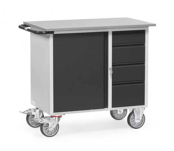 """fetra® 2452/7016 Werkstattwagen """"Grey Edition"""""""