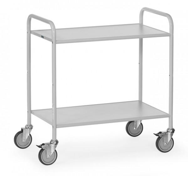 fetra® 4880 Bürowagen mit Rollen und offenen Seitenwänden