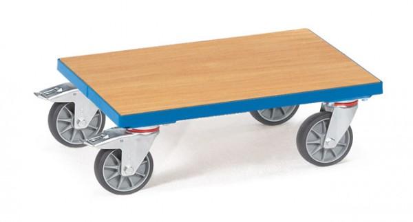 fetra® 13582 Eurokastenroller - Bodenpatte bündig im Rahmen