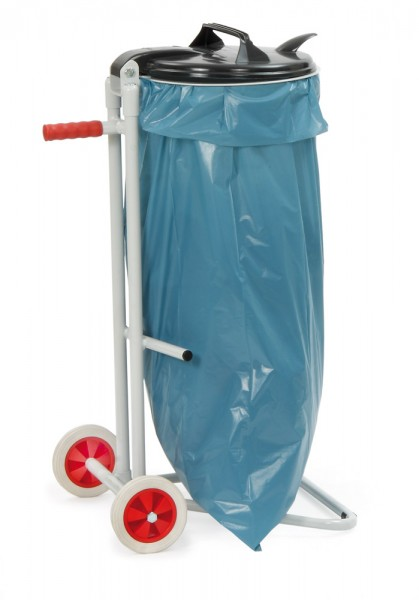 fetra® 1386 Abfallsammler mit Rollen