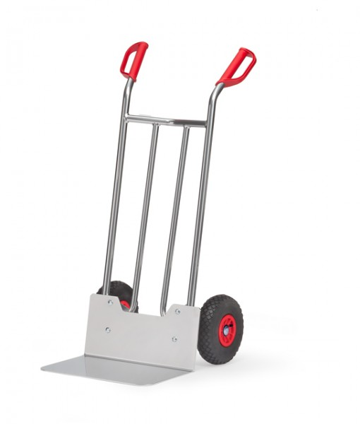 fetra® A1116L Alukarre - Luftbereifung - 150kg - breite Schaufel
