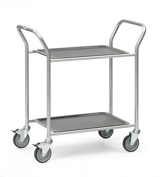 fetra® 5032 Servierwagen mit abnehmbaren Tabletts