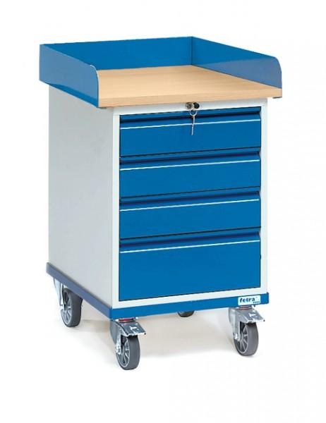 fetra® 2446 Rollschrank mit Schubladen