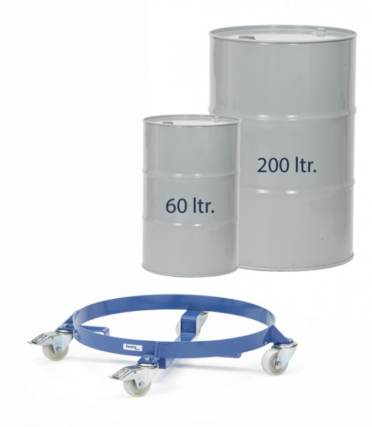 fetra® 1360 Fassroller für 60 und 200 Liter Fässer