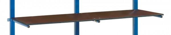 fetra® E4614-1ET Etagenboden für Tragarmwagen mit PVC-Schlauch - 1200 x 600mm