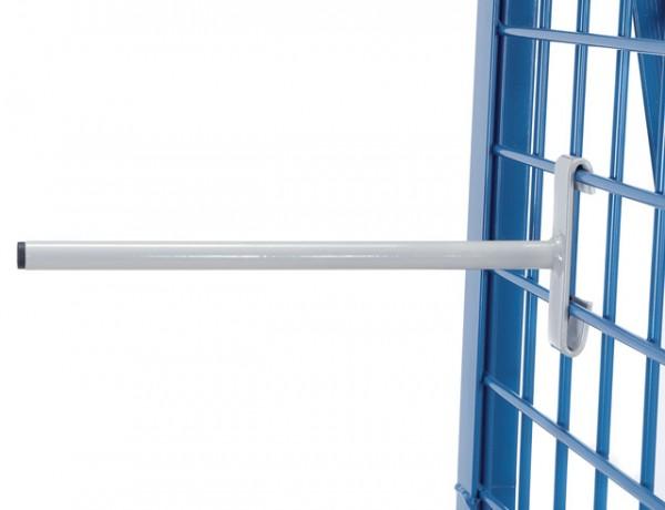 fetra® 1303 Rohträger - Länge 300 mm - 27 mm Ø, Tragkraft 25 kg