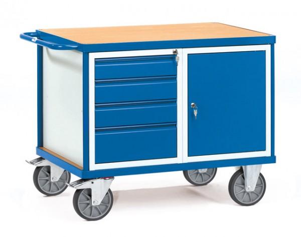 fetra® 2476 Werkstattwagen mit Schubladen und Schrank
