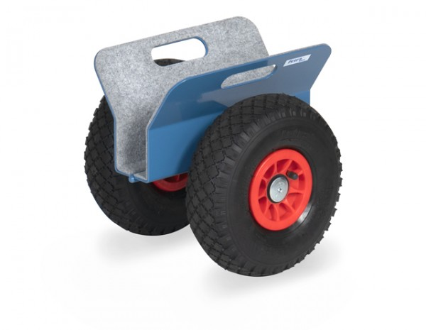 fetra® 4158 Plattenroller mit Klemmbacken - mit Luftbereifung