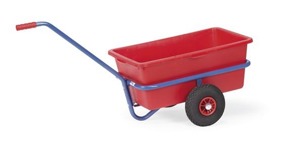 fetra® 4101V Handwagen mit Kunststoffmulde