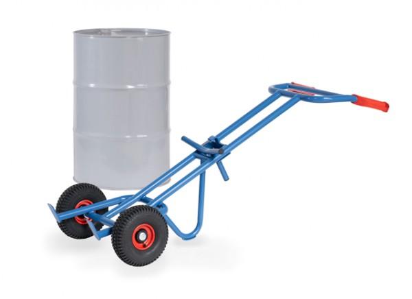 fetra® 1066 Fasskarre für 200l Fässer - Luftbereifung