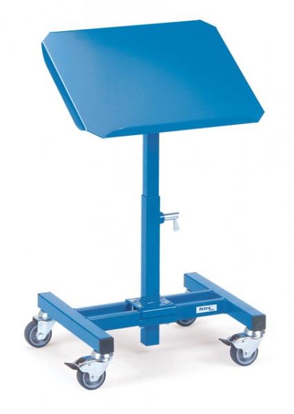 fetra® 3280 Materialständer - höhenverstellbar, fahrbar & neigbar