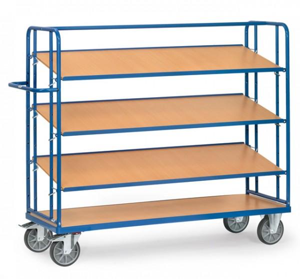 fetra® 4256 Etagenwagen mit verstellbaren Böden