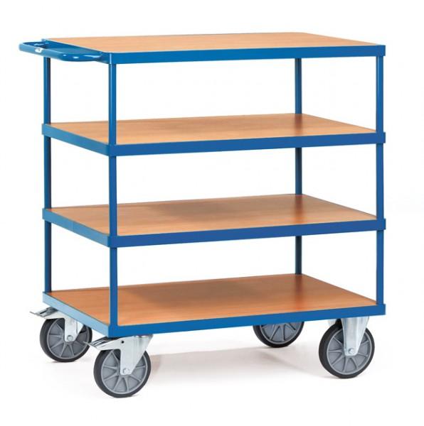 fetra® 2440 Tischwagen 4 Etagen