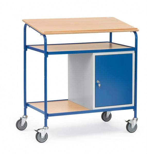 fetra® 5838 Rollpult mit Schreibfläche und Schrank