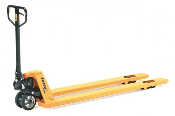 fetra® 2116-18 Gabelhubwagen - lange Ausführung - 1800mm - 1200kg Tragkraft