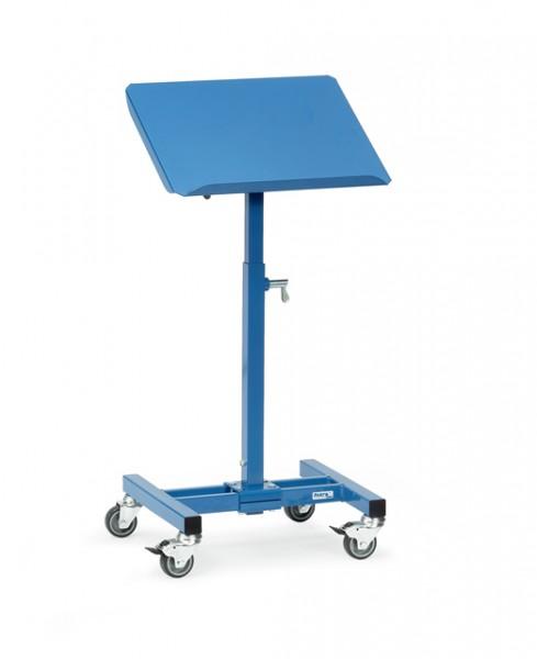 fetra® 3282 Materialständer - höhenverstellbar, fahrbar & neigbar