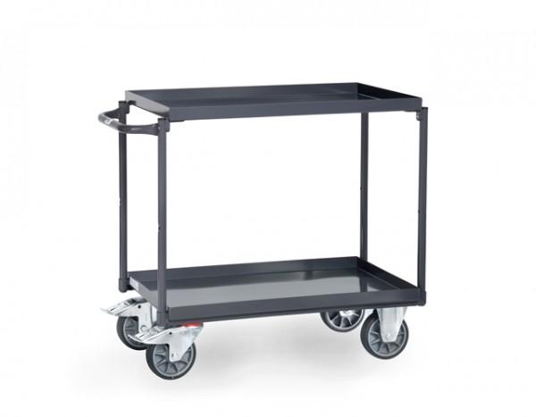 fetra® 9820 ESD-Tischwagen mit Wanne