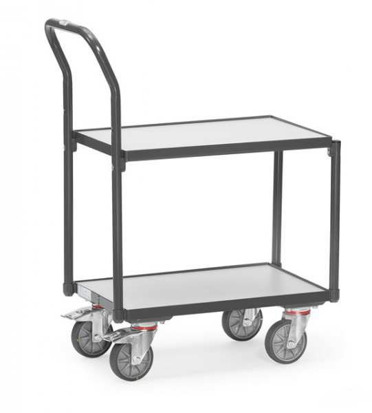 fetra® 935400 ESD-Eurokastenroller mit Schiebebügel
