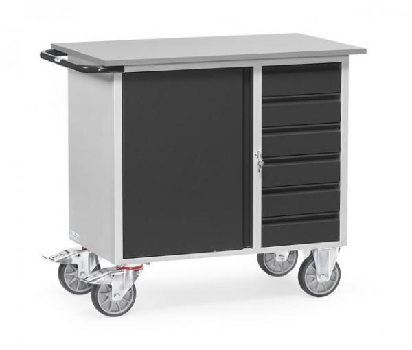 """fetra® 2450/7016 Werkstattwagen """"Grey Edition"""""""