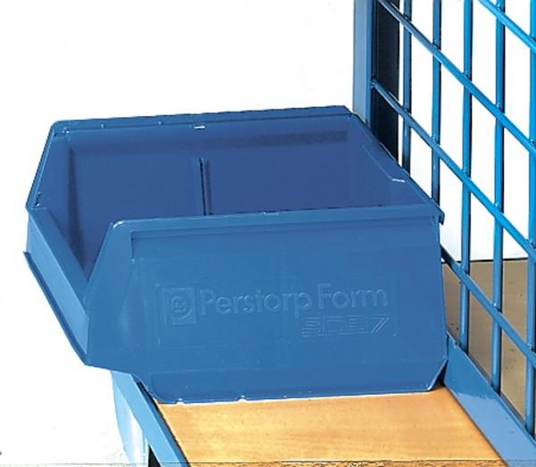 fetra® 1307 Sichtlagerkasten - blau - L x B x H = 300 x 230 x 150 mm