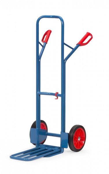 fetra® K1326V Paketkarre - Schaufel klappbar - Vollgummi-Bereifung