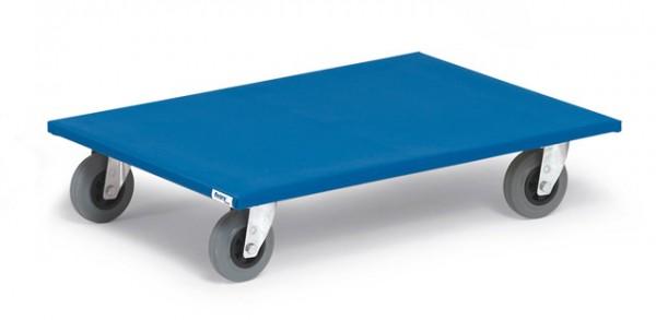 fetra® 2358 Möbelroller - Vollgummibereifung - 500kg - Rollbrett