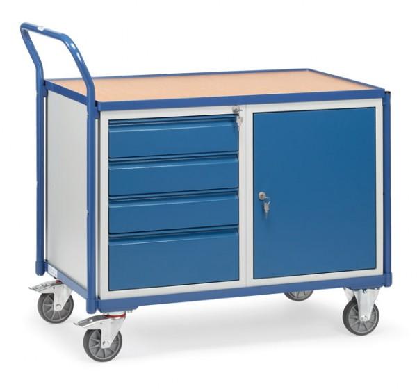 fetra® 2635 Werkstattwagen mit Schrank und Schubladen