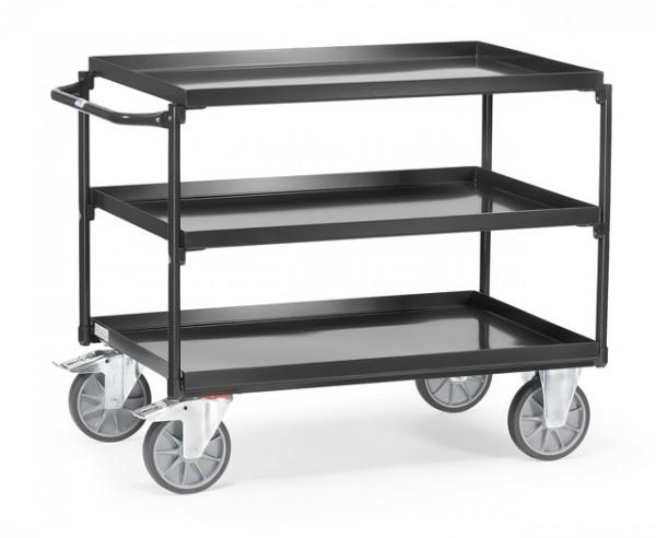 """fetra® 4832/7016  Tischwagen """"Grey Edition"""