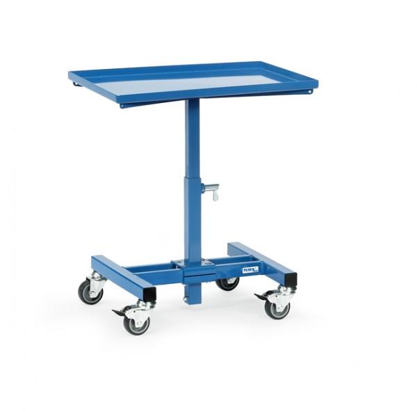 fetra® 3260 Materialständer - höhenverstellbar und fahrbar