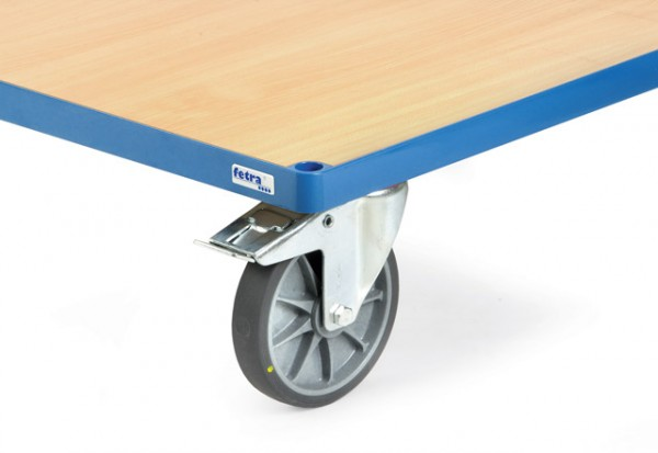 fetra® 2184 Räder elektrisch leitfähig (antistatisch) mit TPE-ESD Bereifung