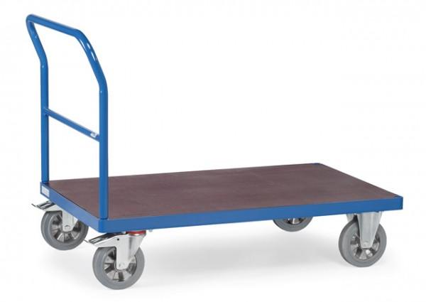 fetra® 12503 Transportwagen mit Schiebebügel - Schwerlast - 1200kg Tragkraft